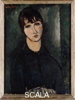 Modigliani, Amedeo (1884-1920) The Waitress