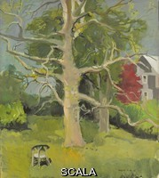 ******** Porter, Fairfield (1907-1975). The Trees. 1961