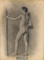******** Robinson, Theodore (1852-1896). Study of the Male Figure. 1875