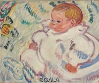 ******** Valtat, Louis (1869-1952). The Baby; Le Bebe. 1908