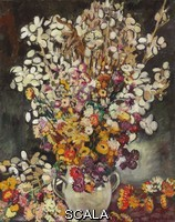 ******** Valtat, Louis (1869-1952). Flower Bouquet. 1927