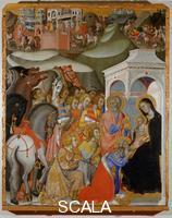 Bartolo di Fredi (1330-1410) Adoration of the Magi