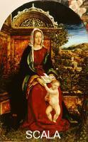 Burgkmair, Hans the Elder (1473-1531) The Virgin and Child in a Landscape