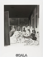 Hamilton, Richard (1922-2011) Picasso's Meninas, from the portfolio 'Hommage à Picasso', published 1973