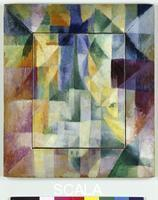 Delaunay, Robert (1885-1941) Fensterbild (Window Picture), 1912