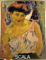 Pechstein, Max (1881-1955) Young Girl, 1908