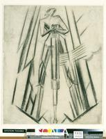 Epstein, Jacob (1880-1959) Study for 'The Rock Drill'. c.1913