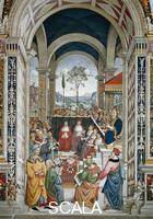 Pinturicchio (1454-1513) Scenes from the Life of Pius II: Pius II Convokes a Diet at Mantua for the Crusade against the Turks