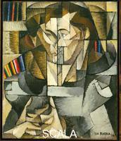 Rivera, Diego (1886-1957) Jacques Lipchitz (Portrait of a Young Man), Paris, 1914