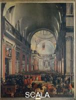 Sacchi, Andrea (c. 1599-1661) Urban VIII in the Church of Il Gesu'