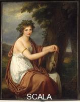 Kauffmann, Angelica (1740-1807) Portrait of a Young Bacchante
