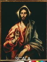 El Greco (Theotokopulos, Domenico 1541-1614) The Savior
