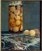 Monet, Claude (1840-1926) The Peach Glass, c. 1866