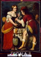 Strozzi, Bernardo (1581-1644) Rebecca with Abraham's Servant at the Well (post 1630)
