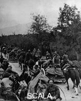******** First World War (1914-1918). Italy: retreat of Italian troops after their defeat in Caporetto (1917)