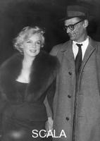 ******** Marilyn Monroe and Arthur Miller, 1959.