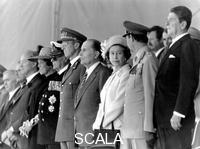 ******** Heads of state at the 40th anniversary of Normandy Landings, 1984.