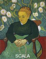 Gogh, Vincent van (1853-1890) Lullaby: Madame Augustine Roulin Rocking a Cradle (La Berceuse)