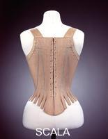 ******** Stays, back view, 1780-90.