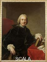 Batoni, Pompeo (1708-1787) Portrait of P. Metastasio