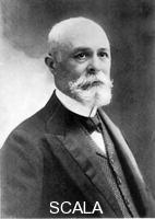 ******** (Antoine) Henri Becquerel (1852-1908), French physicist. He shared the 1903 Nobel Prize for physics with Pierre and Marie Curie.