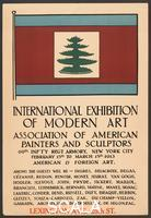 ******** Poster for the International Exhibition of Modern Art, known as the 'Armory Show', NY, 1913