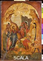 ******** Icon with the Raising of Lazarus, 16th century