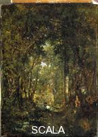Rousseau, Theodore (1812-1867) In Fontainebleau Wood