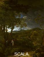 Dughet, Gaspard (1615-1675) Landscape with Elijah and the Angel, about 1663