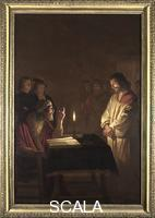 Honthorst, Gerrit van (1590-1656) Christ before the High Priest, about 1617