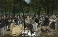 Manet, Edouard (1832-1883) Music in the Tuileries Gardens, 1862