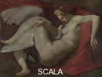 Michelangelo (Buonarroti, Michelangelo 1475-1564), copy Leda and the Swan, after 1530