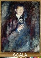 Munch, Edvard (1863-1944) Self-Portrait with Cigarette