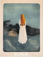 Munch, Edvard (1863-1944) Young Woman on the Beach