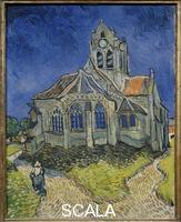 Gogh, Vincent van (1853-1890) The Church at Auvers. 1890