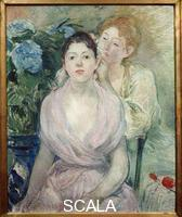 Morisot, Berthe (1841-1895) The Hortense or The Two Sisters, 1894