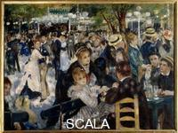 Renoir, Pierre Auguste (1841-1919) Dance at the Moulin de la Galette, Montmatre, 1876