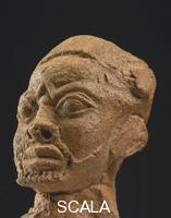 ******** National Museum of Lagos. Portrait of man - terracotta - Owo. 15th century
