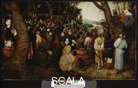 Bruegel, Pieter the Elder (1528-1569) The Sermon of Saint John the Baptist