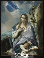 El Greco (Theotokopulos, Domenico 1541-1614) The Magdalene, about 1576-1578