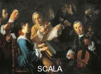 ******** The concert, ca 1755, by Gaspare Traversi (born between 1722 and 1724-died ca 1770). Italy, 18th century.