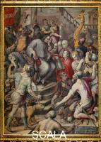 Vasari, Giorgio (1511-1574) and assistants Homage of All the Peoples to Lorenzo de' Medici