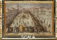 Vasari, Giorgio (1511-1574), school Game of Football in Piazza Santo Spirito