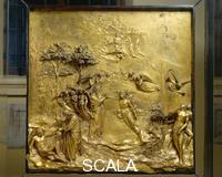 Ghiberti, Lorenzo (1378-1455) Door of Paradise: Scenes from the Story of Adam and Eve