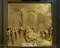 Ghiberti, Lorenzo (1378-1455) Door of Paradise: Scenes from the Story of Isaac