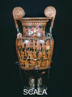 Darius Painter (4th cent. BCE) The Persians Krater, from Canosa - side A