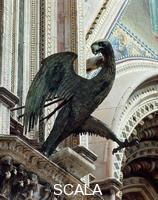 Maitani, Lorenzo (13th-14th cent.), attr. Eagle, symbol of Saint John