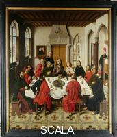 Bouts, Dieric (c. 1415 -1475) Last Supper Triptych: central panel