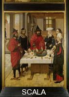 Bouts, Dieric (c. 1415 -1475) Last Supper Triptych: lower left-hand panel
