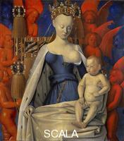 Fouquet, Jean (c. 1420-c. 1477) The Virgin of Melun